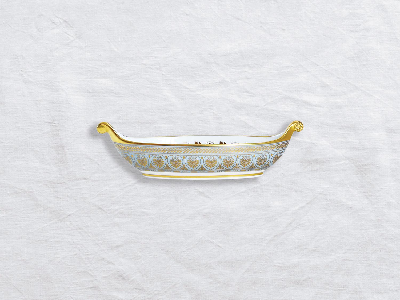 Navette PM en porcelaine de la collection Elysee Bernardaud