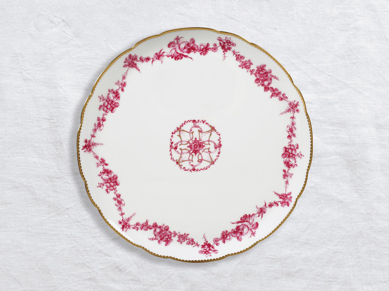 Plat à tarte 32 cm en porcelaine de la collection Louis xv Bernardaud