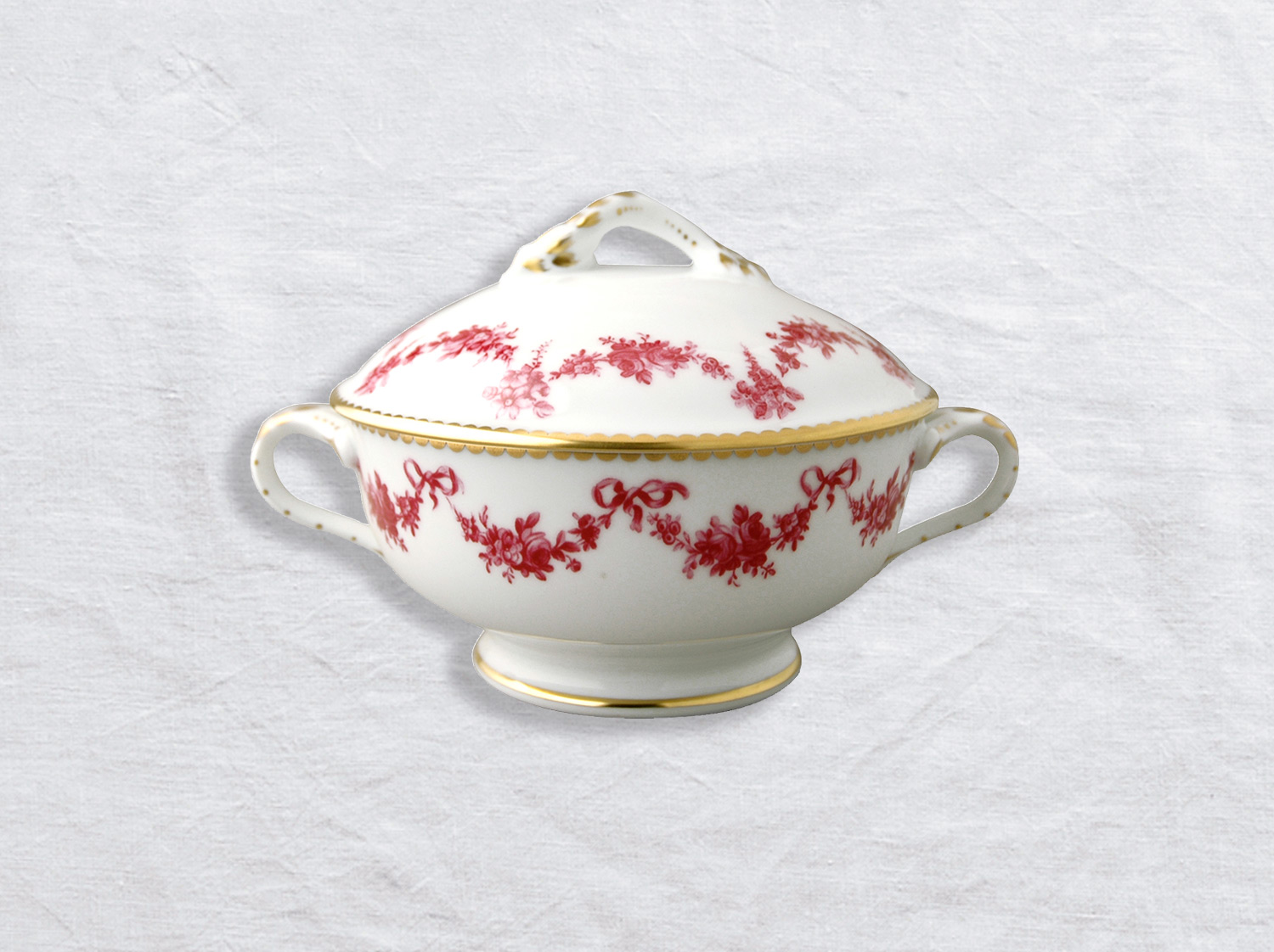 China Gravy boat with cover 15 oz of the collection Louis xv | Bernardaud