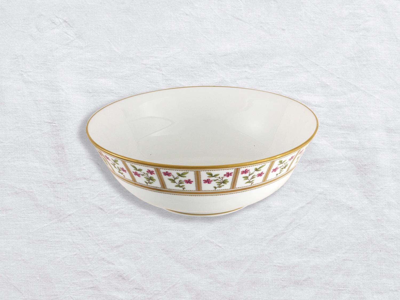 Saladier 25 cm 1,7 L en porcelaine de la collection Roseraie Bernardaud