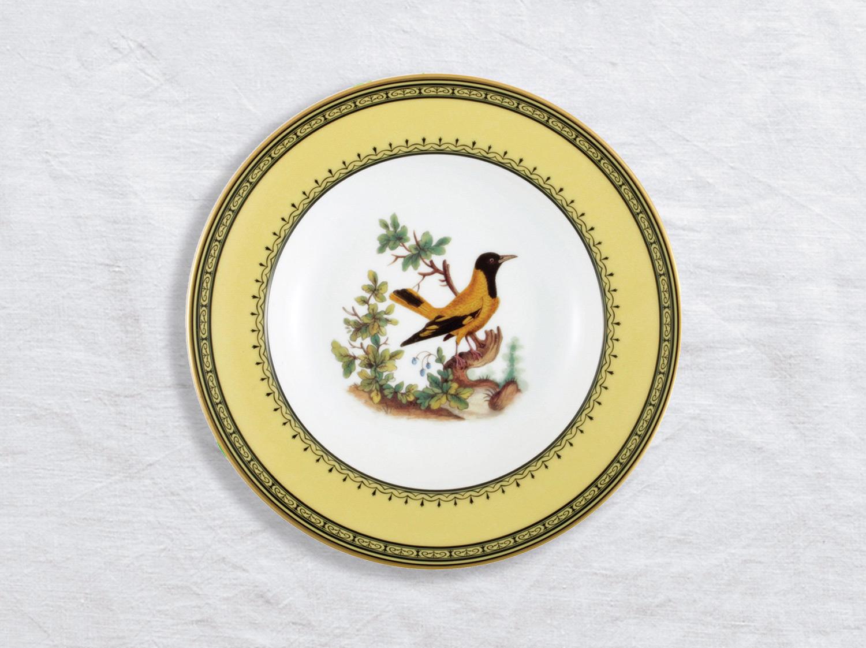 Assiette creuse à aile Loriot de Chine 22,5 cm en porcelaine de la collection Loriot de chine Bernardaud