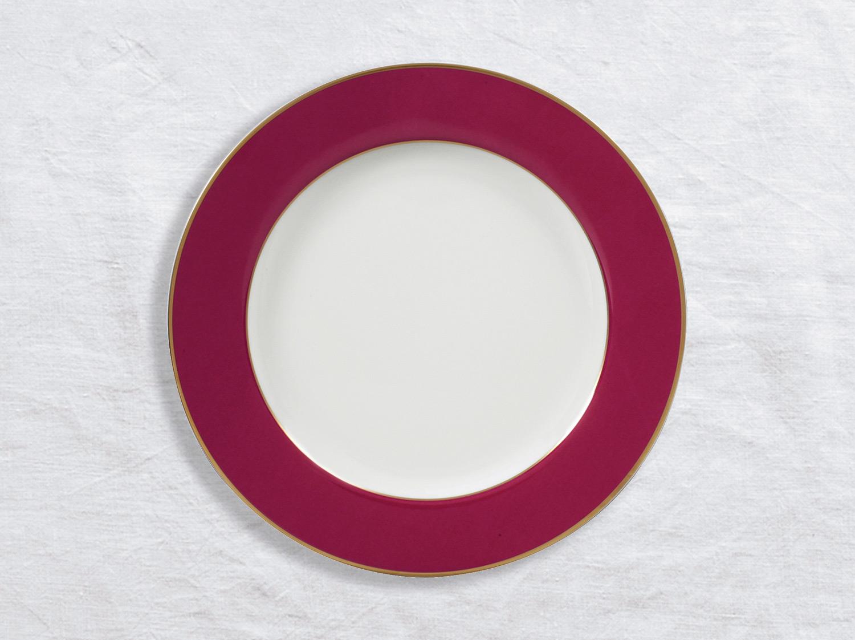 Assiette de présentation 29,5 cm en porcelaine de la collection Roseraie Bernardaud