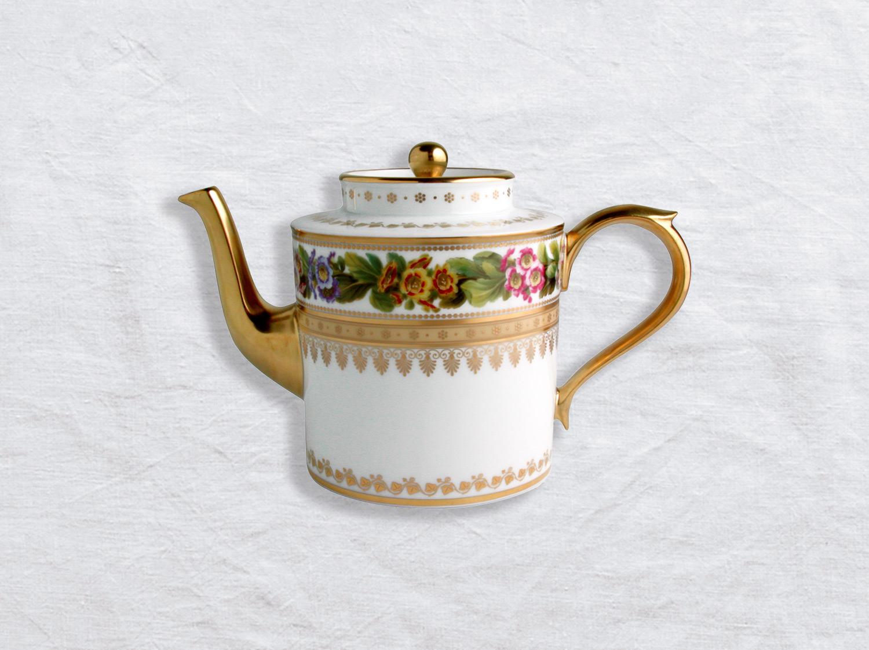Théière 6 tasses en porcelaine de la collection Botanique Bernardaud