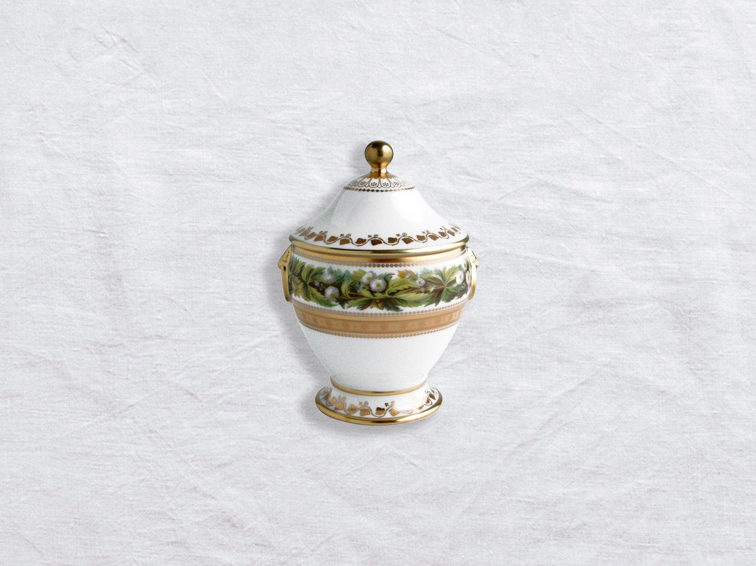 China Sugar bowl 6 cups of the collection Botanique | Bernardaud