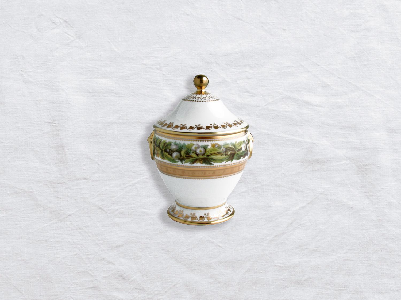 Sucrier 6 tasses en porcelaine de la collection Botanique Bernardaud