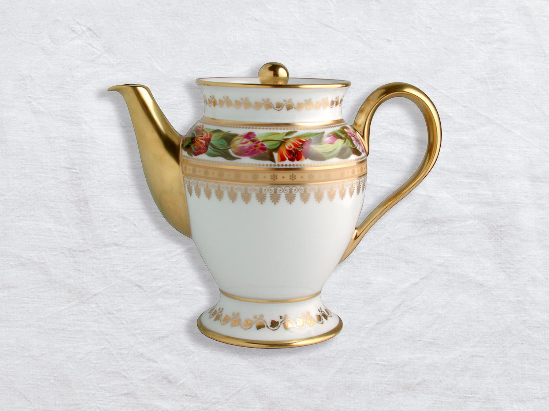 Cafetière 12 tasses 1 L en porcelaine de la collection Botanique Bernardaud