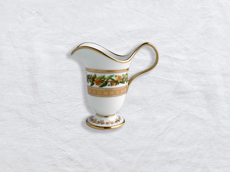 Crémier 6 tasses en porcelaine de la collection Botanique Bernardaud