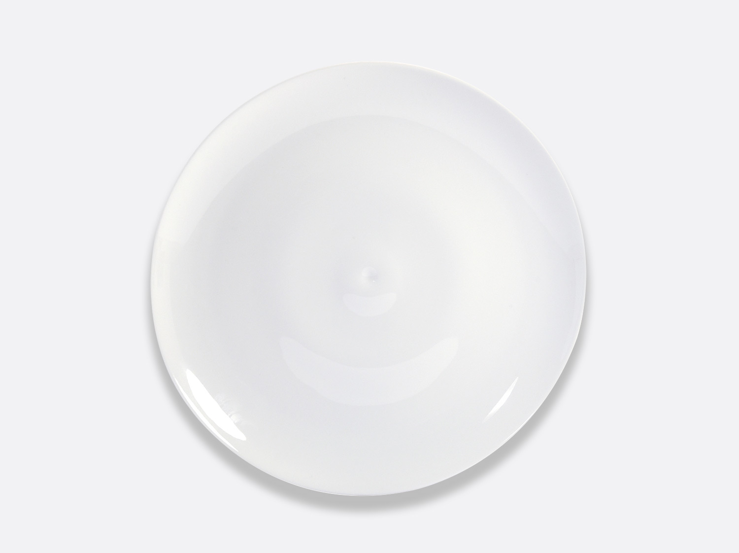 Assiette à dîner 27 cm en porcelaine de la collection Bulle Bernardaud