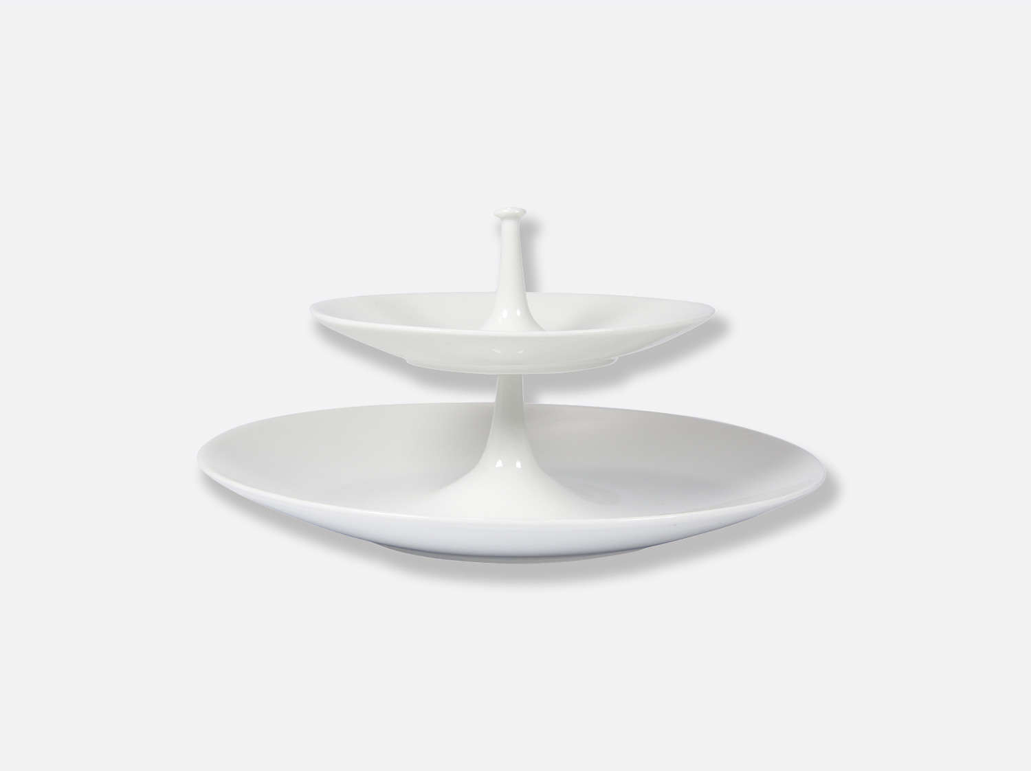China 2-tier tray of the collection Bulle | Bernardaud