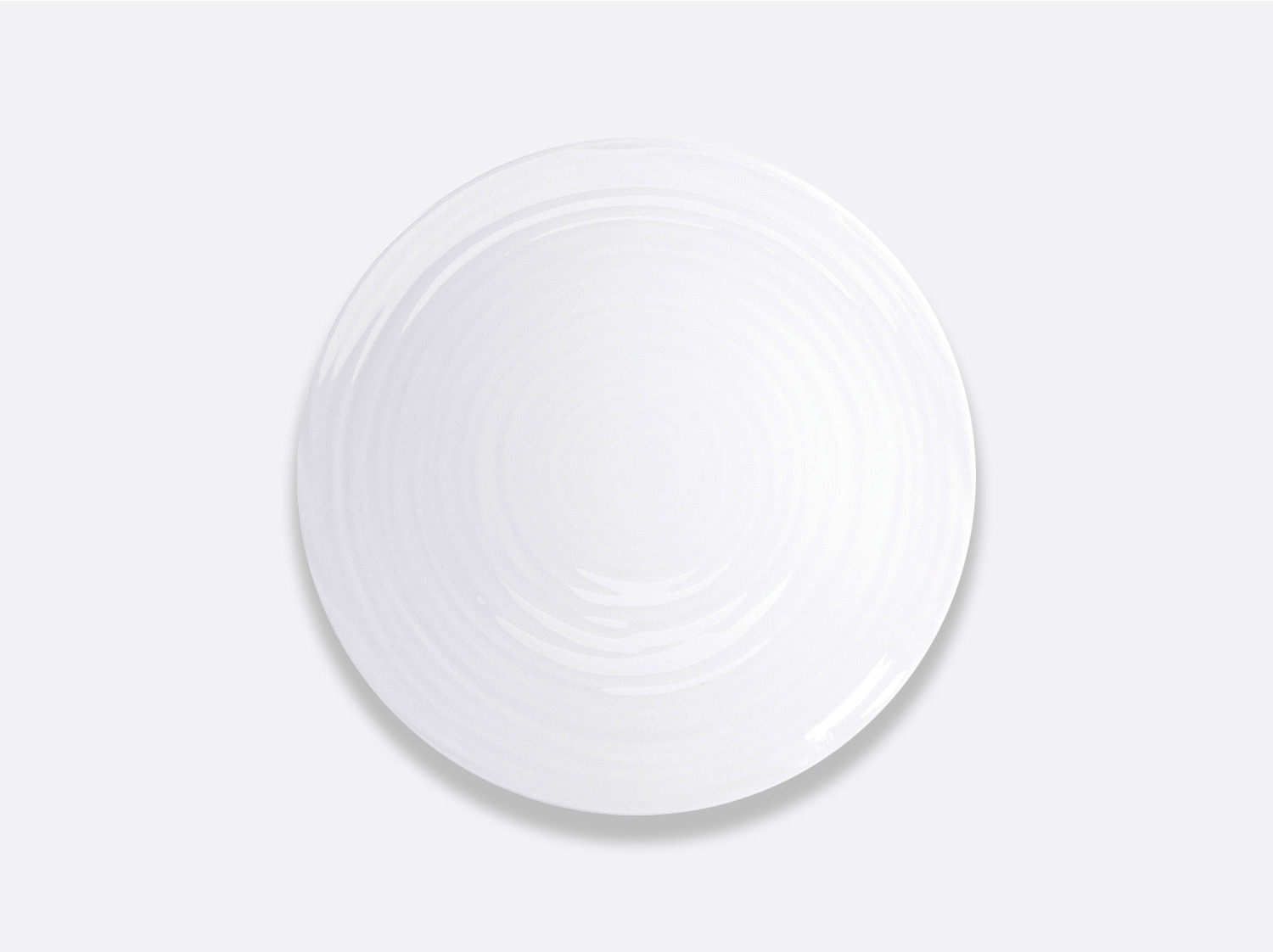Assiette coupe 21,5 cm en porcelaine de la collection Origine Bernardaud