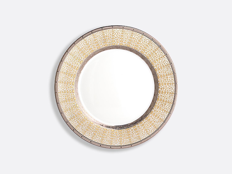 Assiette à dessert 21 cm en porcelaine de la collection Or d azur Bernardaud