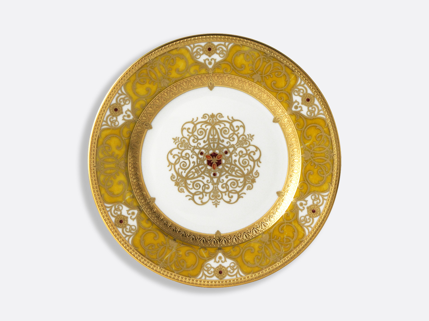 Assiette à dîner 26 cm en porcelaine de la collection splendid Bernardaud
