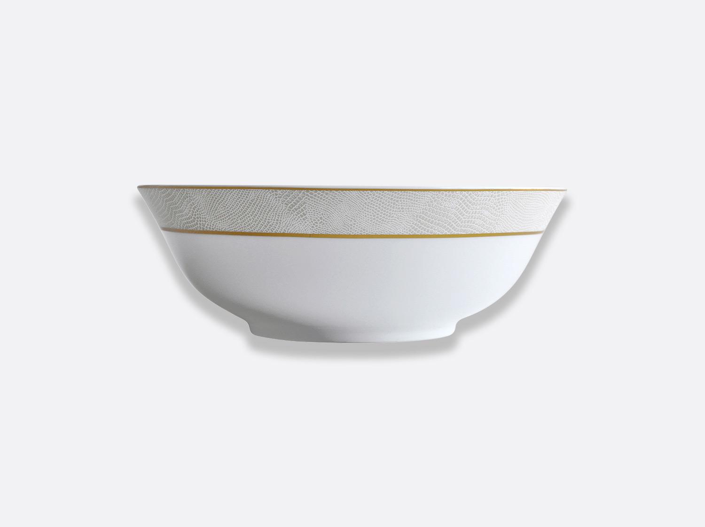 China Salad bowl 25 cm of the collection Sauvage Or Blanc   Bernardaud