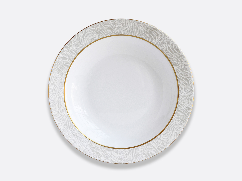 China Deep round dish 29 cm of the collection Sauvage Or Blanc | Bernardaud