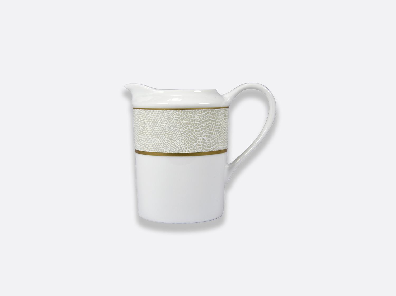 Crémier 12 tasses en porcelaine de la collection Sauvage Or Blanc Bernardaud
