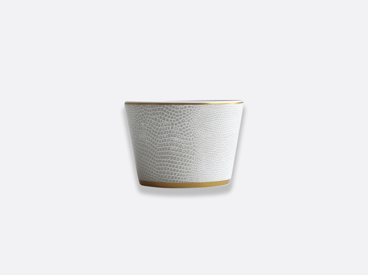 China Tumbler medium of the collection Sauvage Or Blanc | Bernardaud