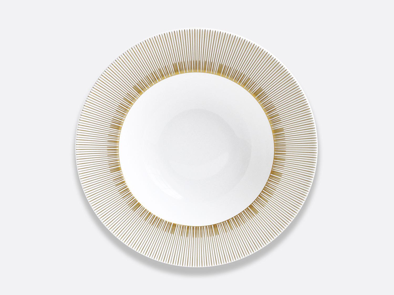 Assiette creuse à aile 22,5 cm en porcelaine de la collection Sol Bernardaud