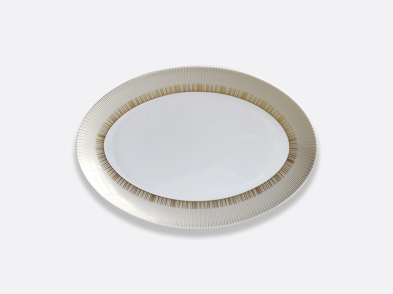 Plat ovale 38 cm en porcelaine de la collection Sol Bernardaud