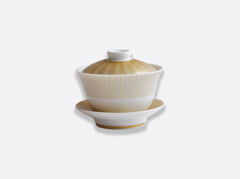 Petite tasse thé couverte 10 cl en porcelaine de la collection Sol Bernardaud
