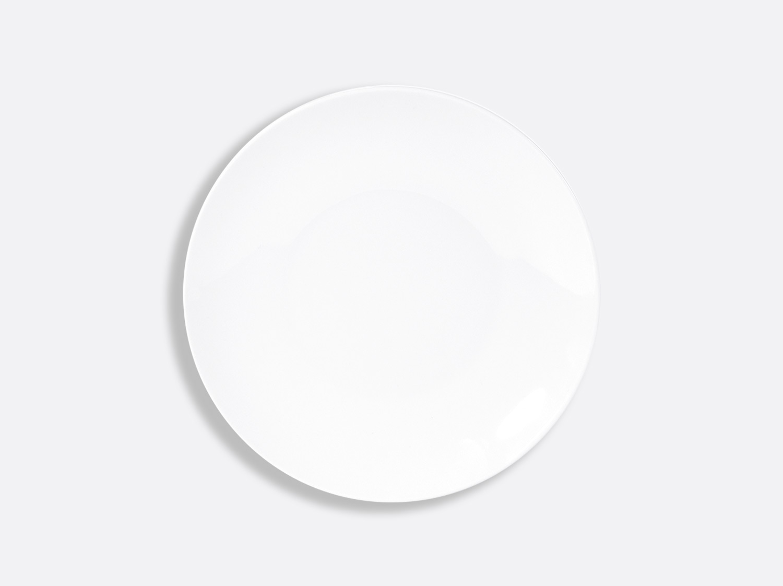 Assiette coupe 21,5 cm en porcelaine de la collection DOMUS BLANC Bernardaud
