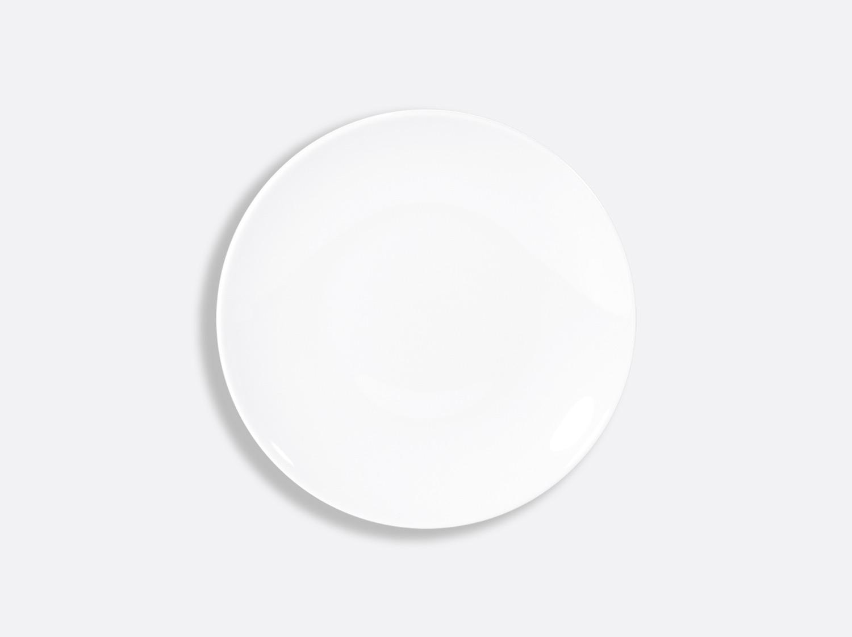 Assiette coupe 16,5 cm en porcelaine de la collection DOMUS BLANC Bernardaud