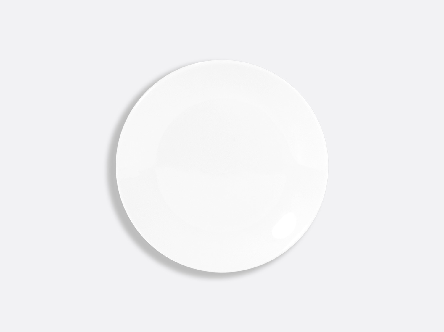 Assiette coupe 14 cm en porcelaine de la collection DOMUS BLANC Bernardaud