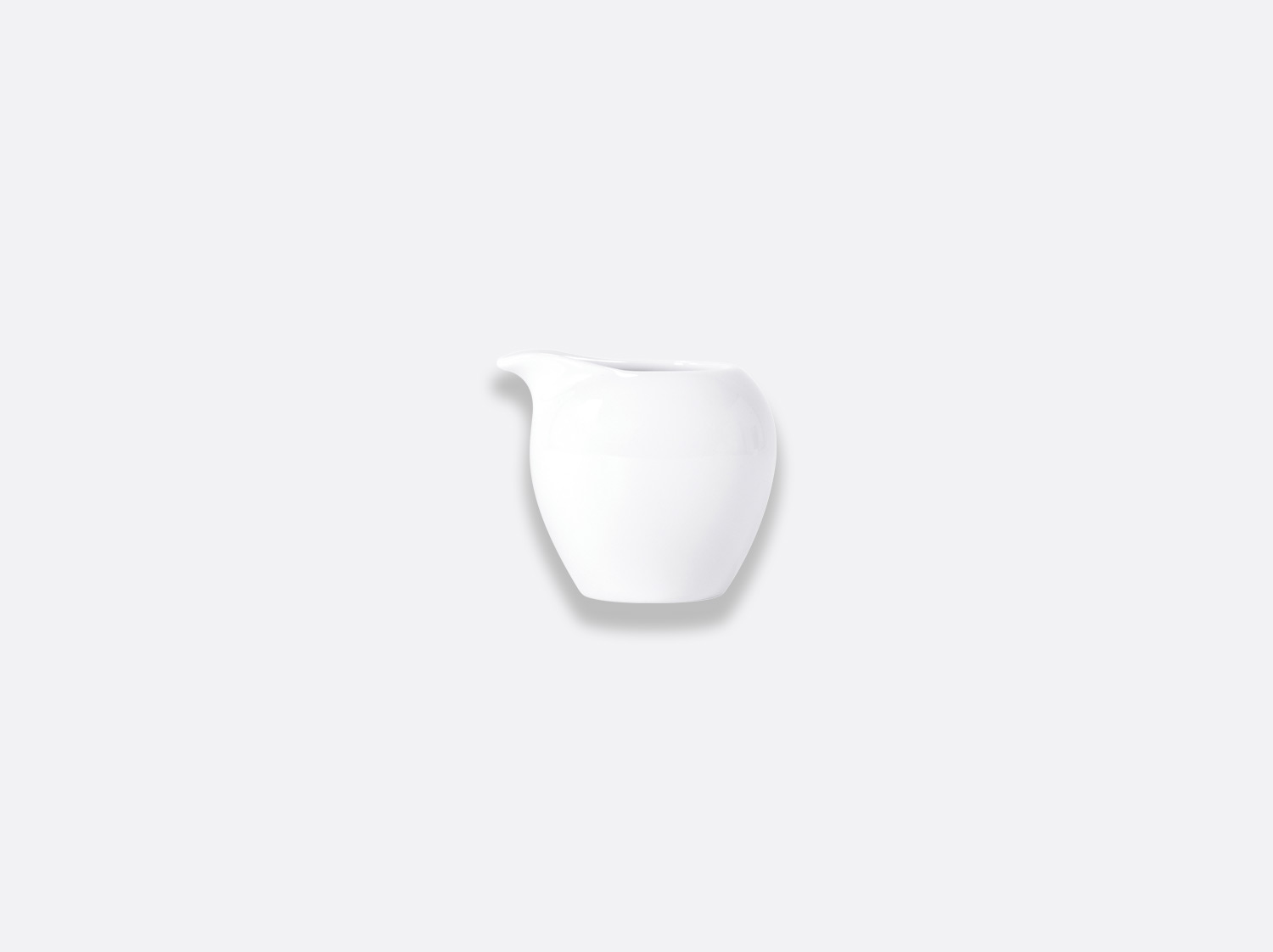 Crémier Boule 8 cl en porcelaine de la collection BOULE BLANC Bernardaud
