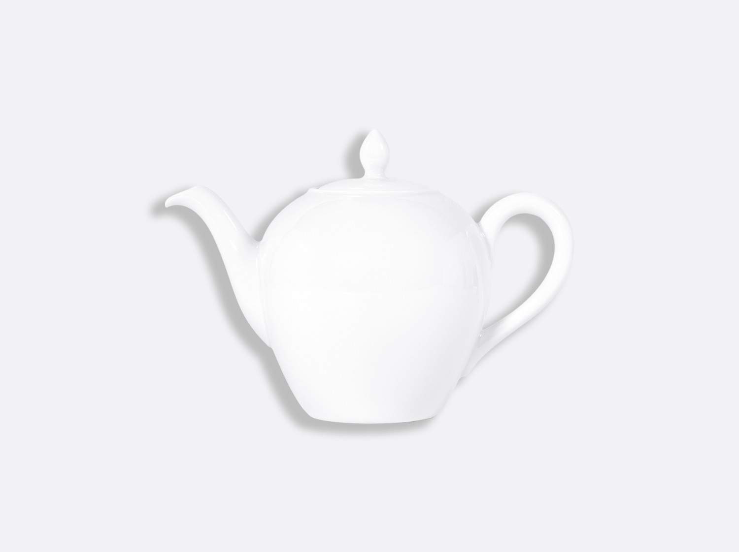 Théière Boule 4 tasses 50 cl en porcelaine de la collection BOULE BLANC Bernardaud