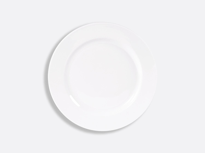 Assiette plate 21 cm en porcelaine de la collection PHOEBE BLANC Bernardaud