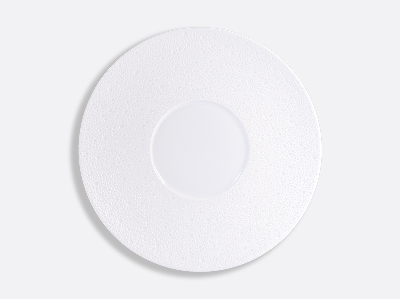 China Shogun plate 29.5 cm of the collection Ecume blanc aile mat | Bernardaud
