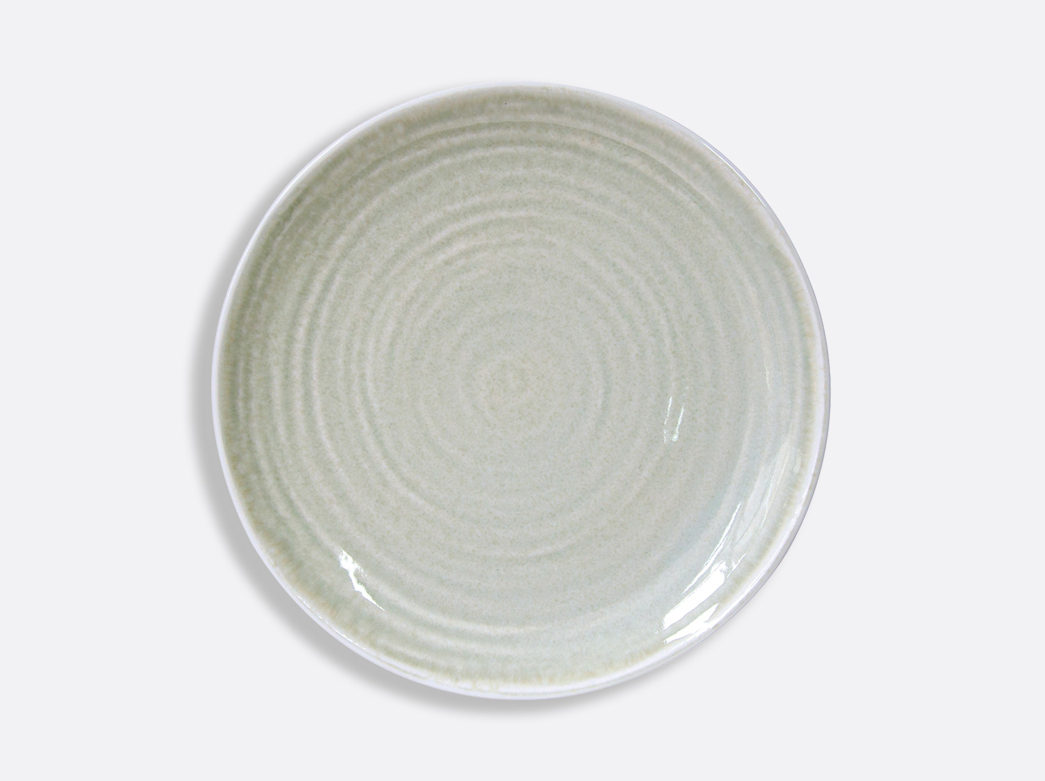 China Celadon service plate 12'' of the collection Celadon | Bernardaud