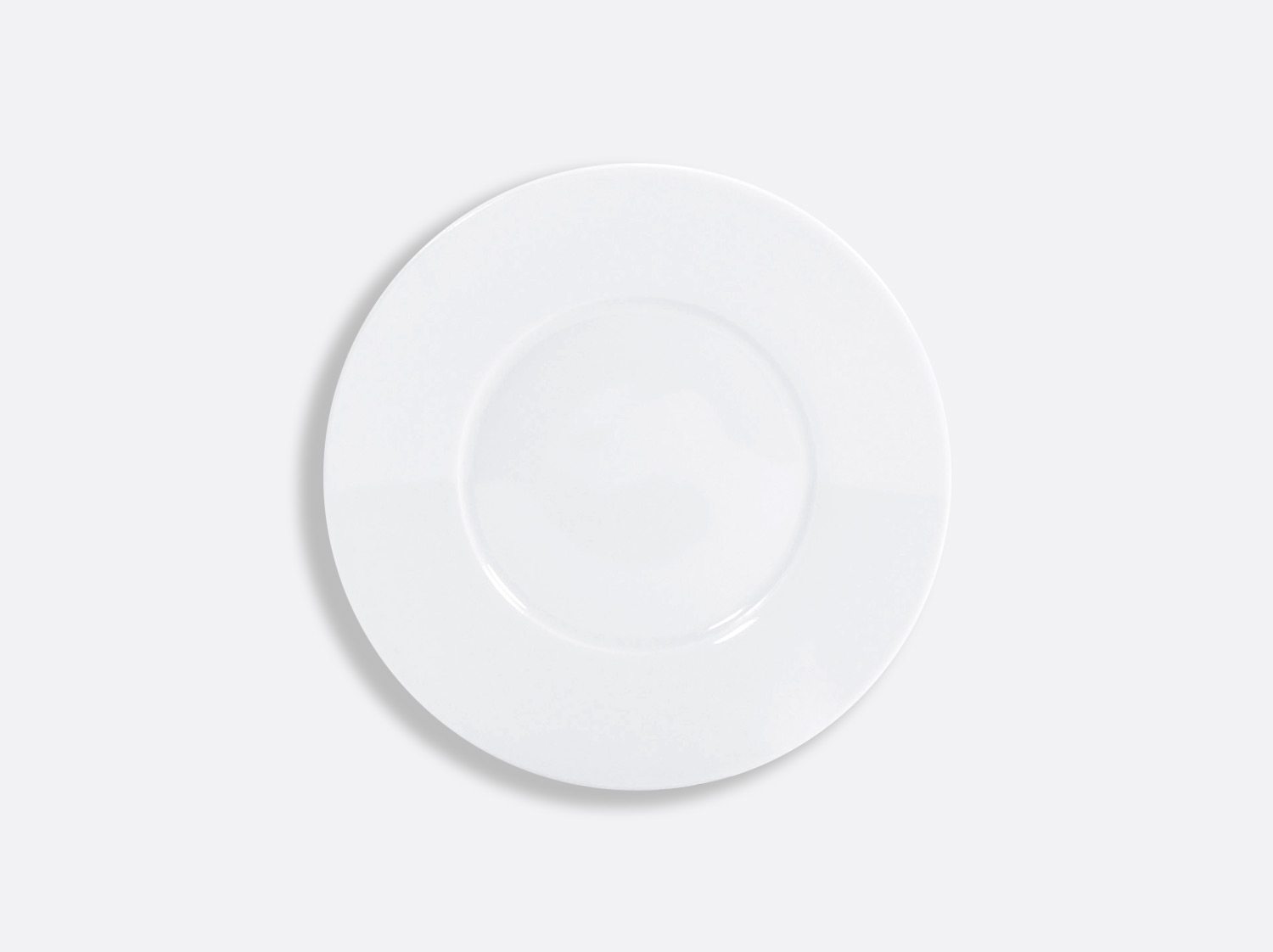 Assiette plate 16 cm en porcelaine de la collection ASTRE BLANC Bernardaud