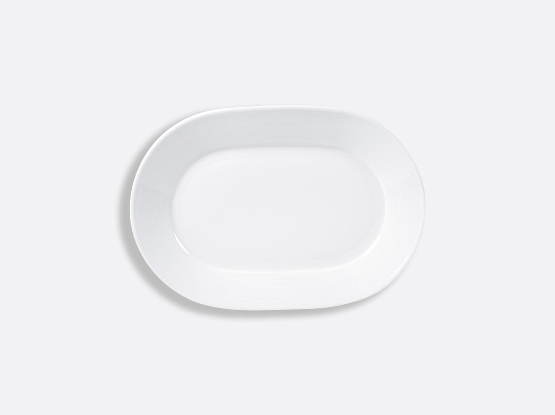 Ravier 21 x 15 cm en porcelaine de la collection ATLANTIDE BLANC Bernardaud