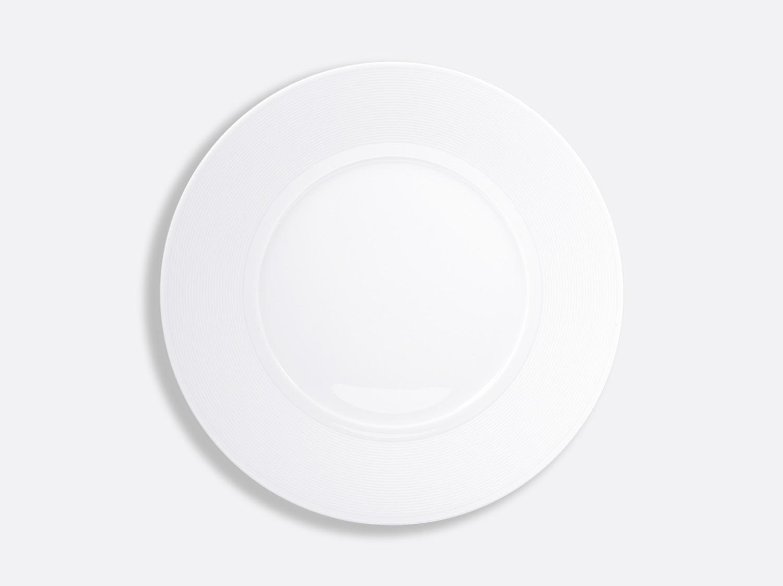 China Plate 10.5'' of the collection Atlantide blanc | Bernardaud