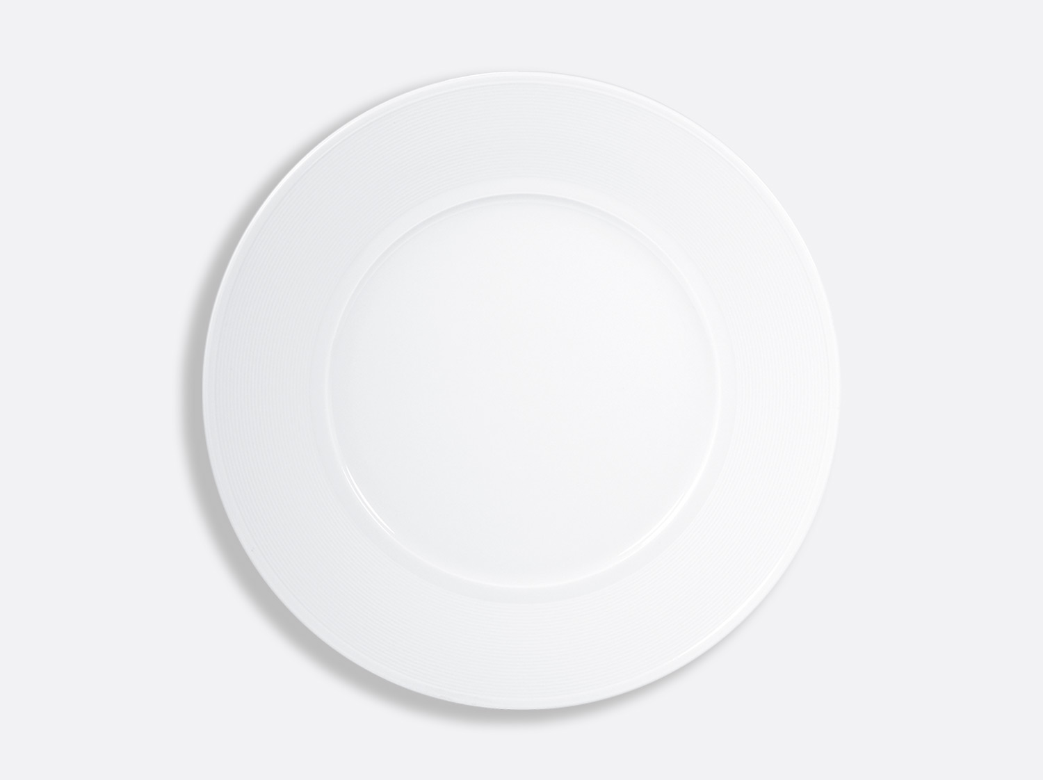 China Plate 29.5 cm of the collection Atlantide blanc | Bernardaud