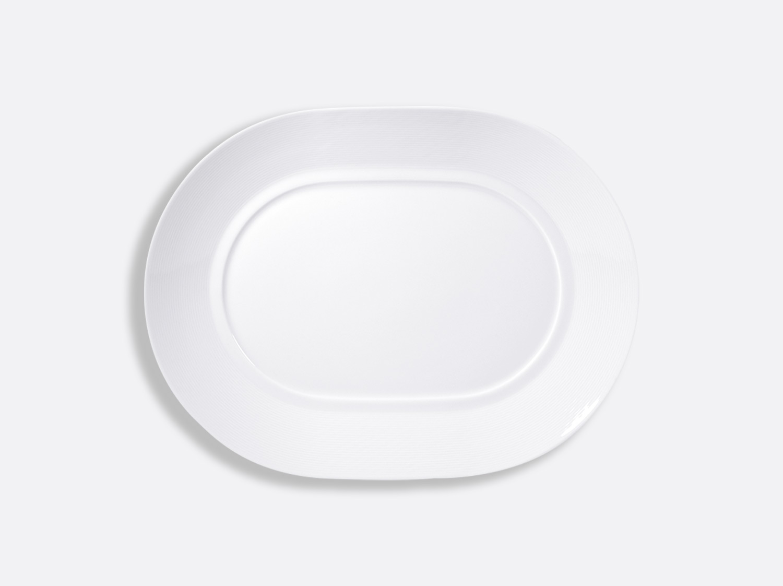 China Oval plate 33 cm of the collection Atlantide blanc | Bernardaud