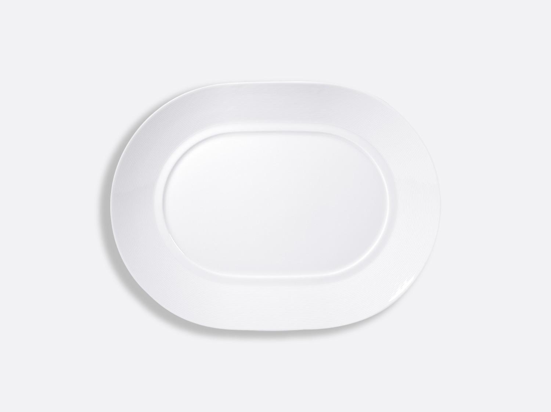 "China Oval plate 11"" of the collection Atlantide blanc | Bernardaud"