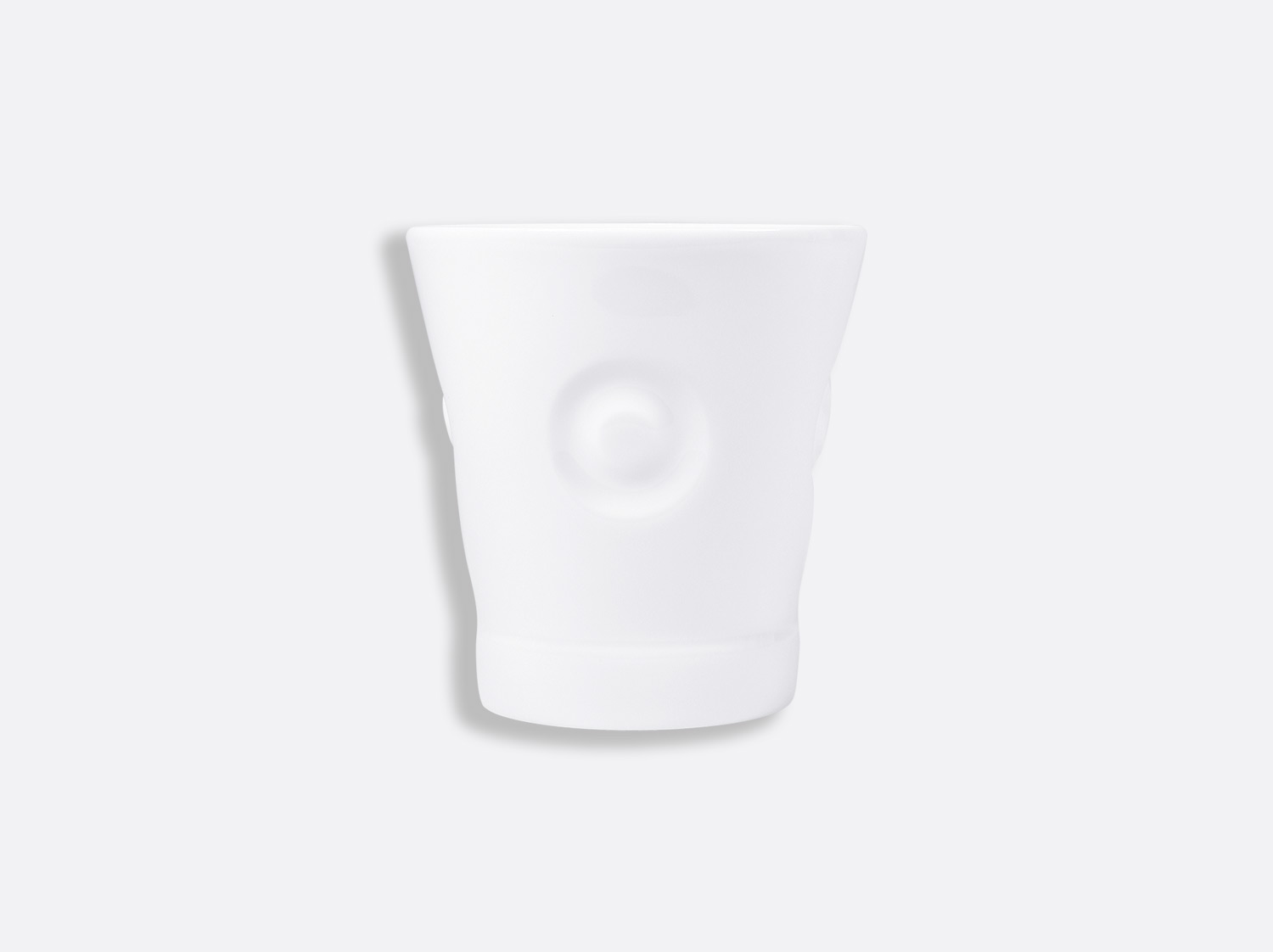 China Eolie goblet 25 cl of the collection Fantaisies blanches | Bernardaud