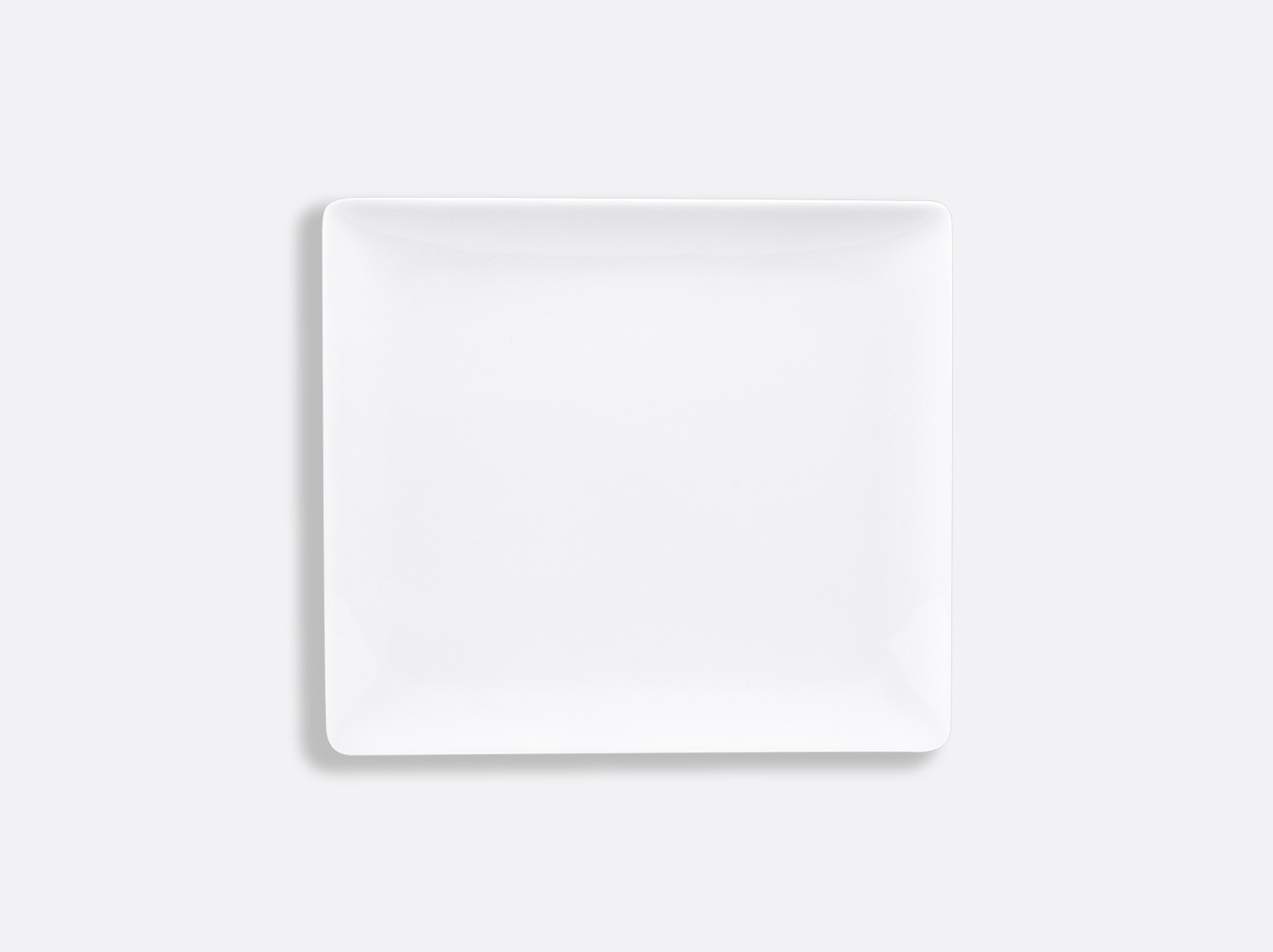Plateau rectangulaire 17 x 15 cm en porcelaine de la collection FANTAISIES BLANCHES Bernardaud