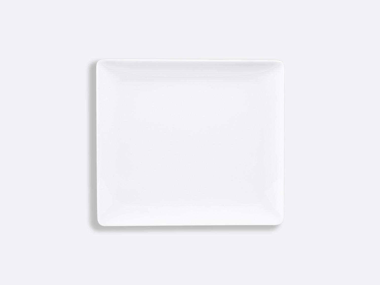 China Rectangular tray 17 x 15 cm of the collection Fantaisies blanches | Bernardaud