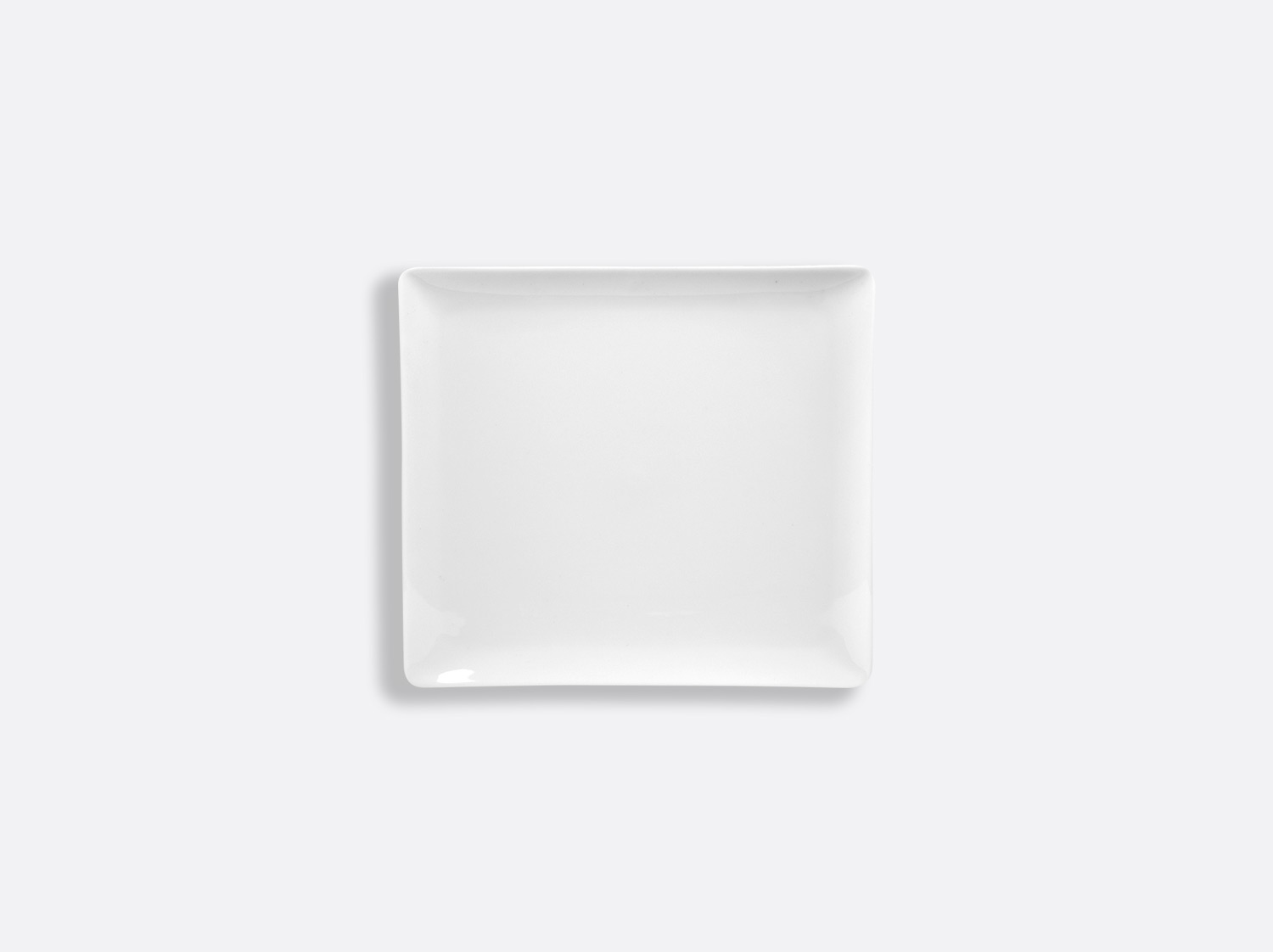 Plateau rectangulaire 12 x 11 cm en porcelaine de la collection FANTAISIES BLANCHES Bernardaud