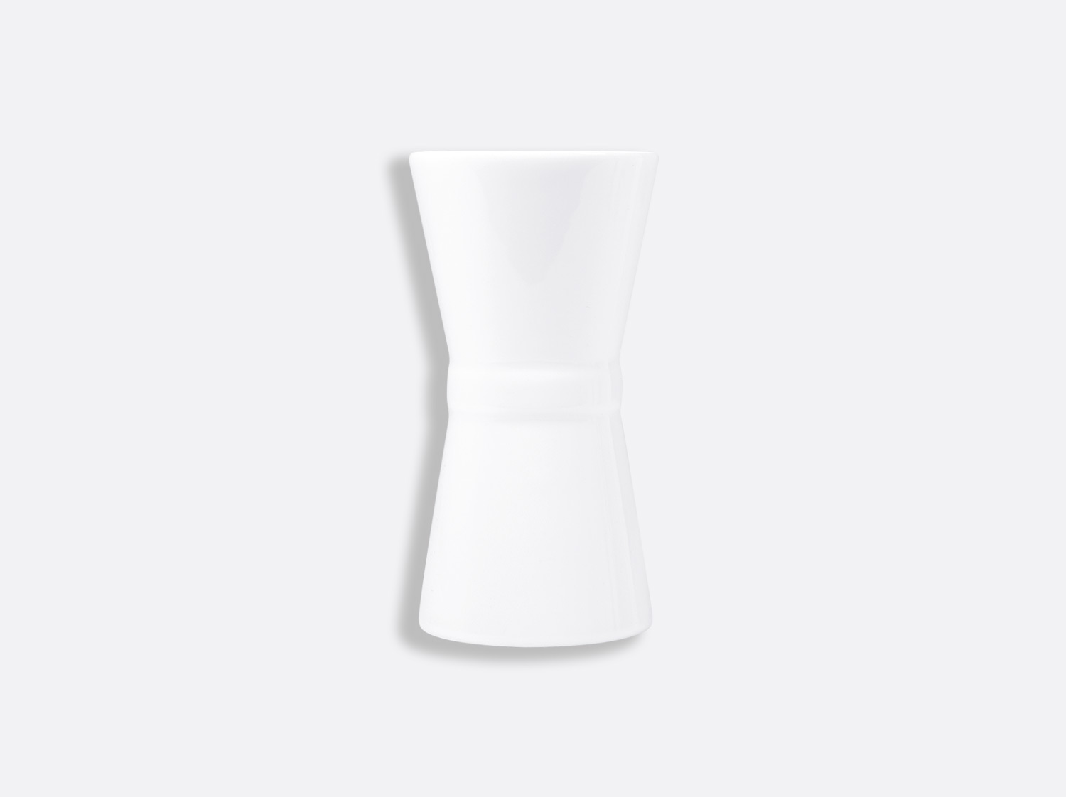 Soliflore Diabolo 12 cm en porcelaine de la collection FANTAISIES BLANCHES Bernardaud