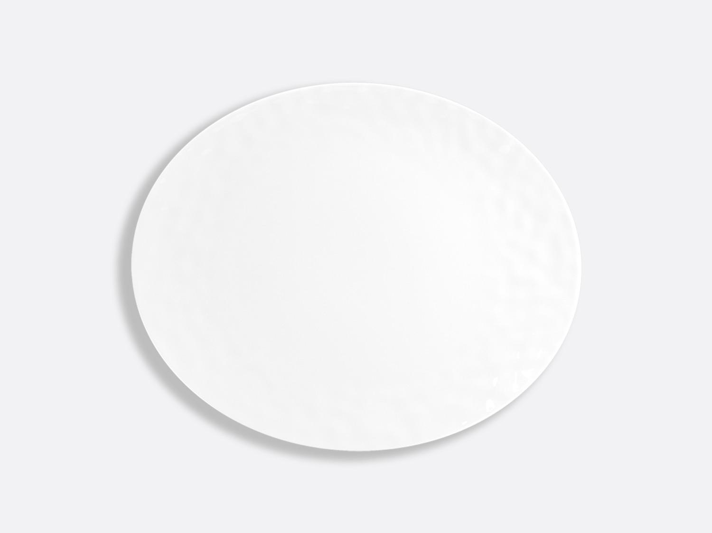 "China Oval plate 12.6"" of the collection Empreinte   Bernardaud"