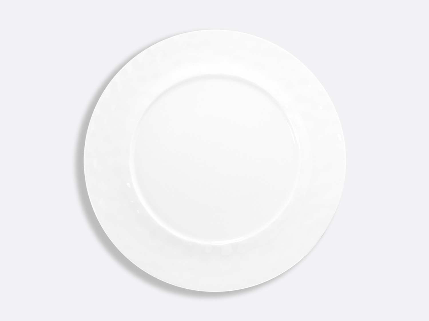 Assiette plate 29,5 cm en porcelaine de la collection EMPREINTE Bernardaud