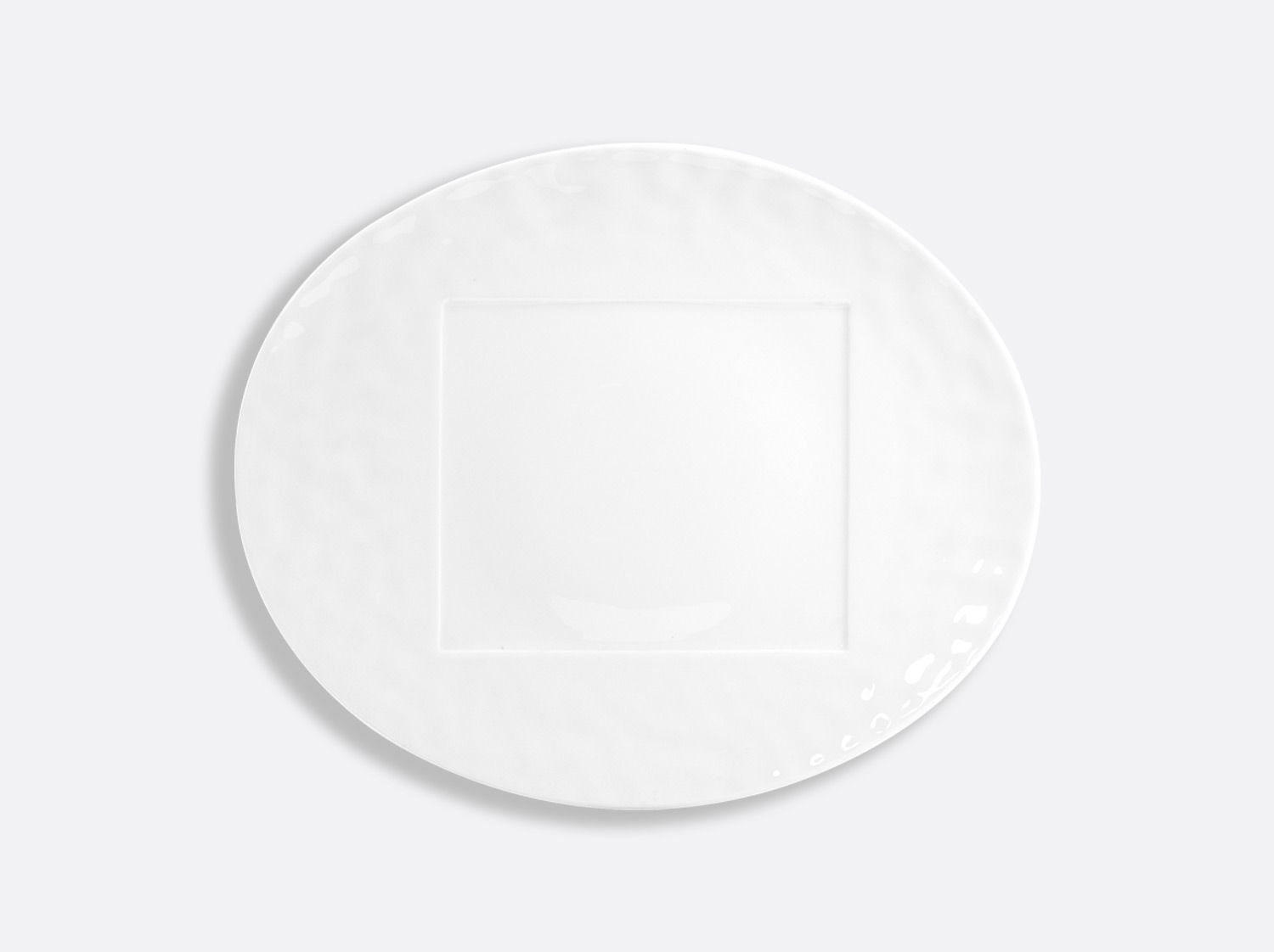 "China Oval plate 12.6"" of the collection Empreinte 