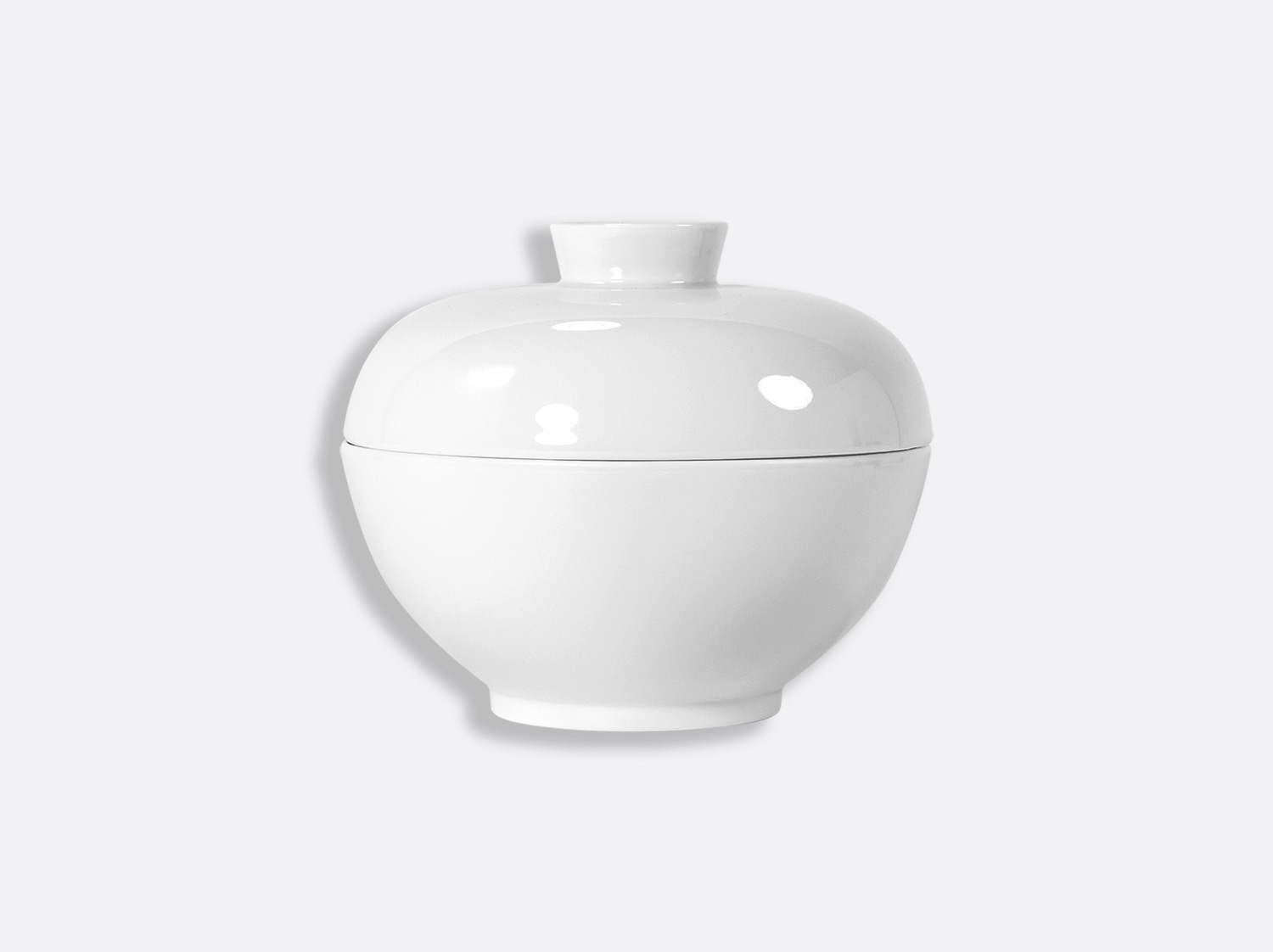Bol à Nouilles 42 cl en porcelaine de la collection JI QING BLANC Bernardaud