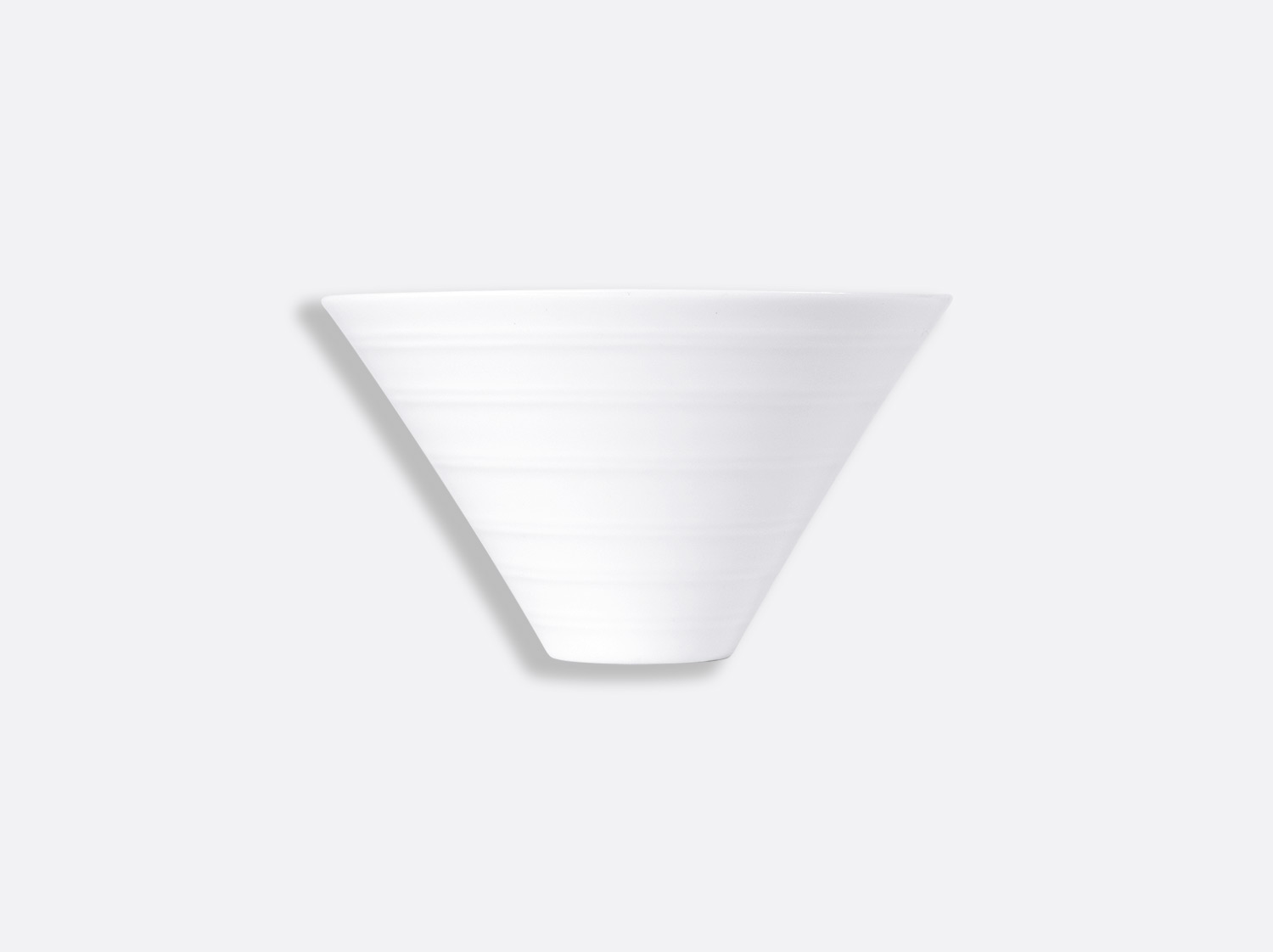 Bol Pacific 40 cl en porcelaine de la collection FUSION BLANC Bernardaud