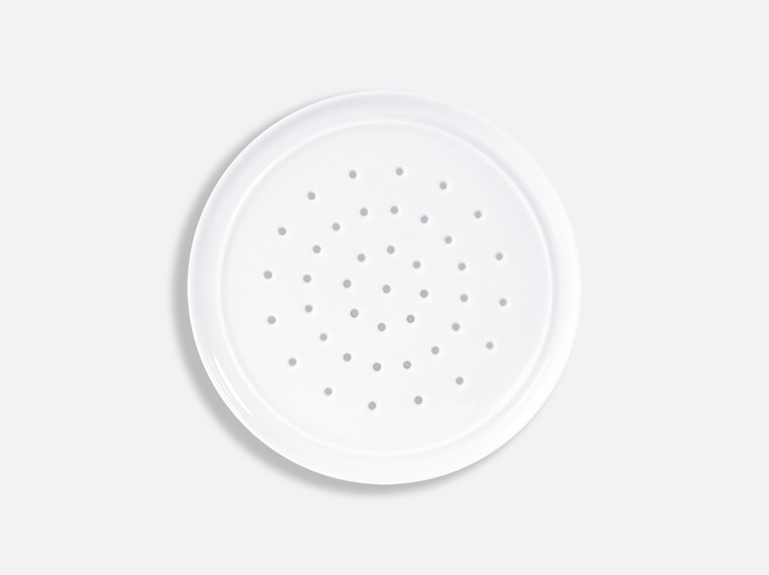 Grille 18 cm en porcelaine de la collection FUSION BLANC Bernardaud