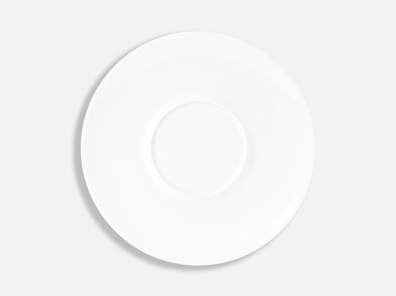 Assiette plate Shogun 26 cm en porcelaine de la collection FUSION BLANC Bernardaud