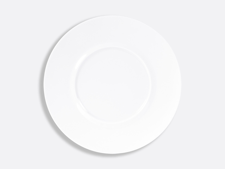 Assiette plate Shogun 29,5 cm en porcelaine de la collection FUSION BLANC Bernardaud